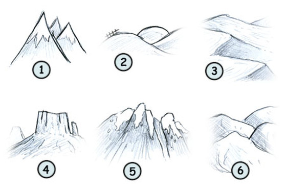 how to draw landscapes many things to draw